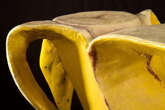 Banana table closeup