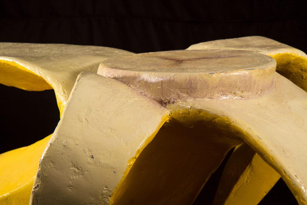 Banana table closeup